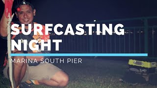 Marina South Pier - Surfcasting Night Session - By (PATV productions)