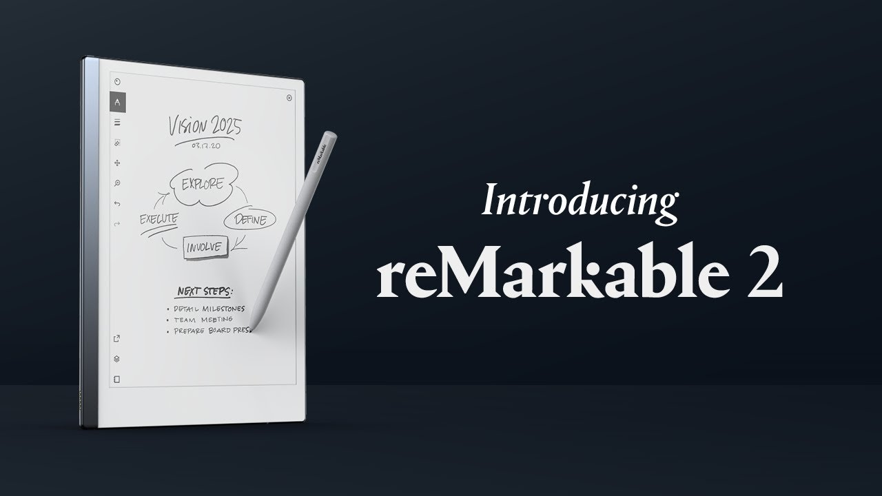 Introducing reMarkable 2 — the paper tablet