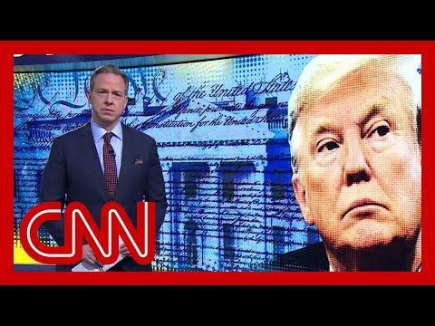 Jake Tapper: Trump focused on rewarding loyalists