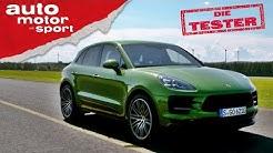 Porsche Macan S: Nur ein verkappter Audi Q5? - Test/Review | auto motor und sport