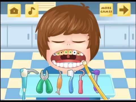 Popstar Dentist Online Games / Cartoon Movies / For Kids / Full English Game/