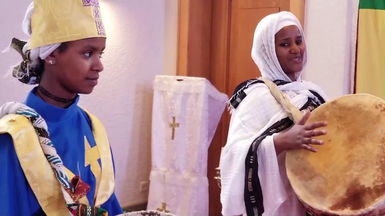 2019 01 20 äthiopisch Orthodoxer Gottesdienst Taufe Jesu