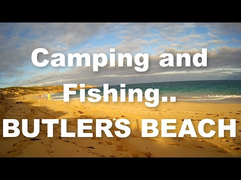 Butlers Beach (Hillocks Drive) Camping and Fishing with ONESIES!