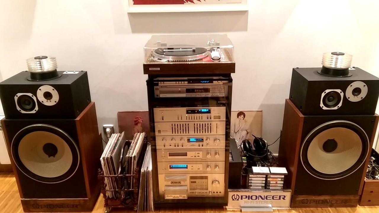 pioneer hpm-1500 speakers