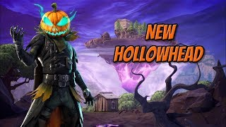 *NEW* HOLLOWHEAD SKIN Gameplay In Fortnite Battle Royale