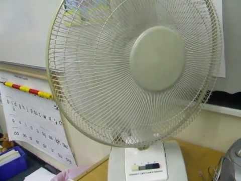 The Lloytron Desk Fan Youtube