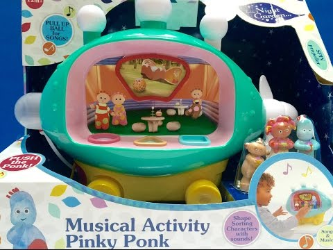 Brand New Musical Activity PINKY PONK TOY Opening!!!