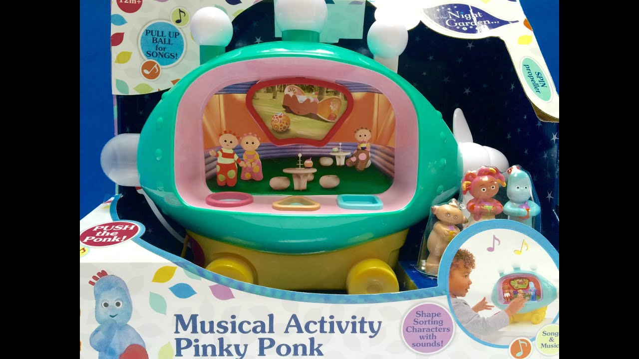 attività Musicale Pinky Ponk Z2S In The Night Garden