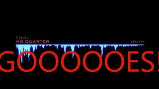 Tool   No Quarter Lyrics on Screen