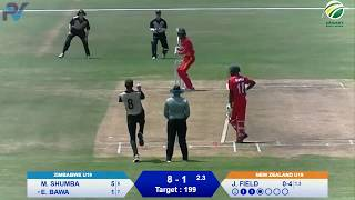Quadrangular Under-19 Series | 3rd Place | Zimbabwe vs New Zealand | Part 2