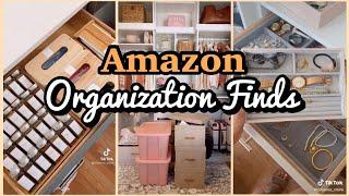 TikTok Compilation    Amazon Organization Must Haves with Links!    Amazon Organization Haul