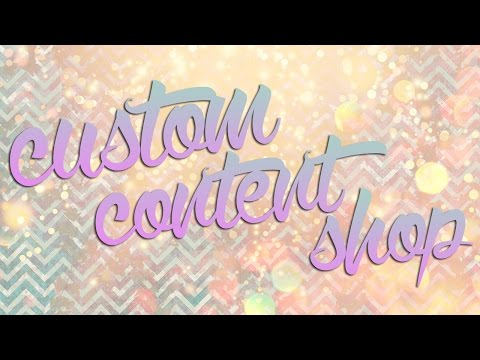 The Sims 4 | CC Shop #1
