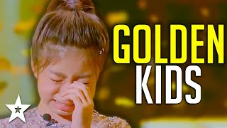 BEST KID GOLDEN BUZZER Auditions On Got Talent 2019! | Got Talent Global