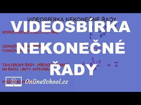 Videosbírka | 12/12 Nekonečné řady | Matematika | Onlineschool.cz