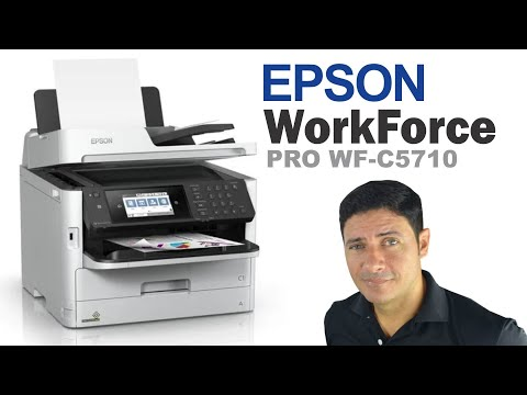 Epson WorkForce Pro WF-C5710 - Teste de Impressão