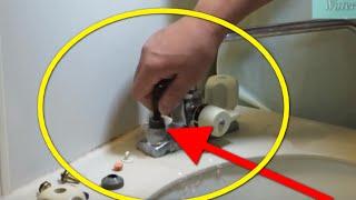 セルフメンテ 洗面器パッキン交換事例