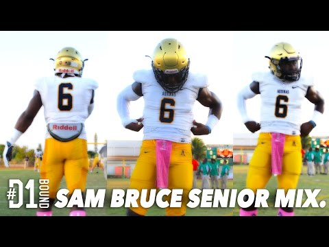 Sam Bruce MOST ELUSIVE High School Football Player EVER! St Thomas Aquinas (FL)