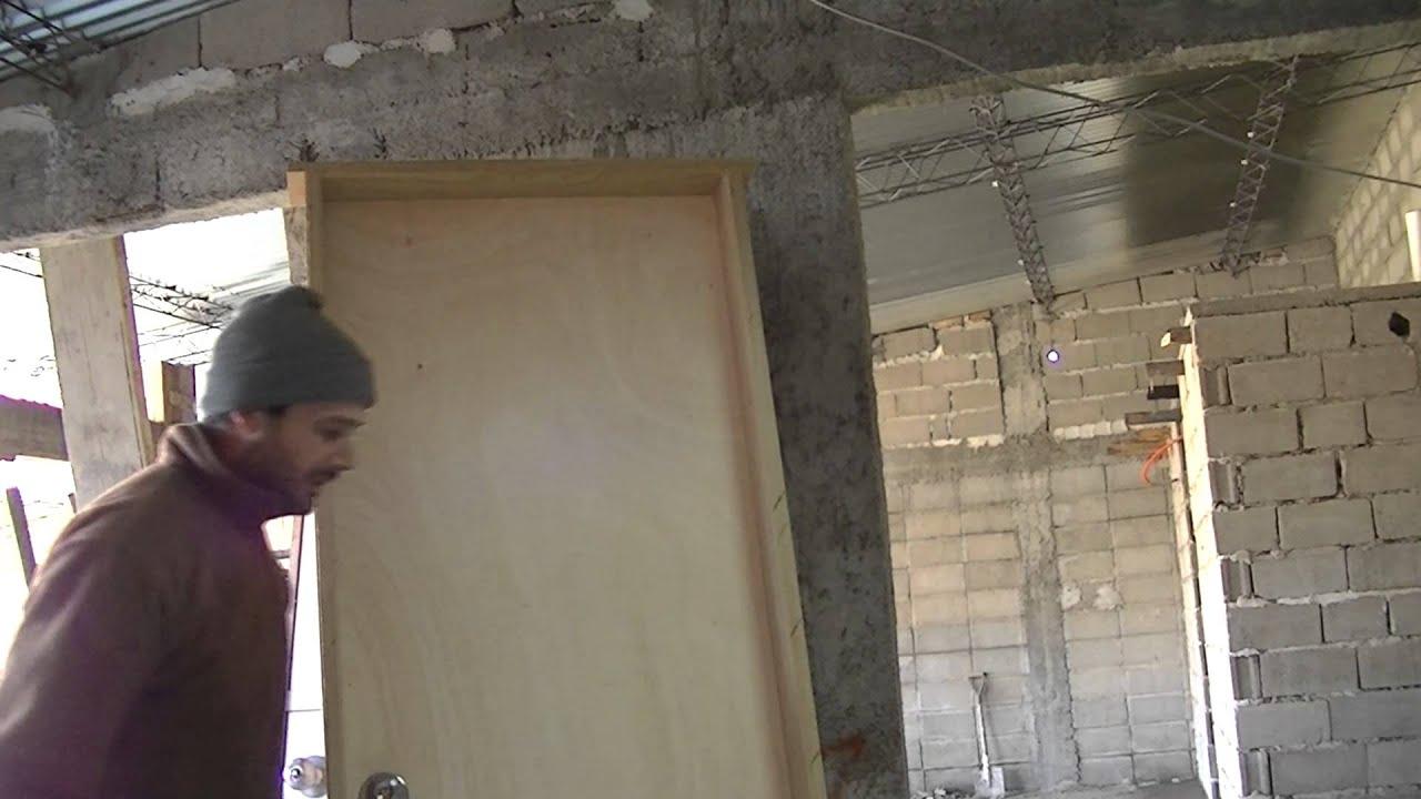 Instalar puerta abierta - Sin salida. - YouTube