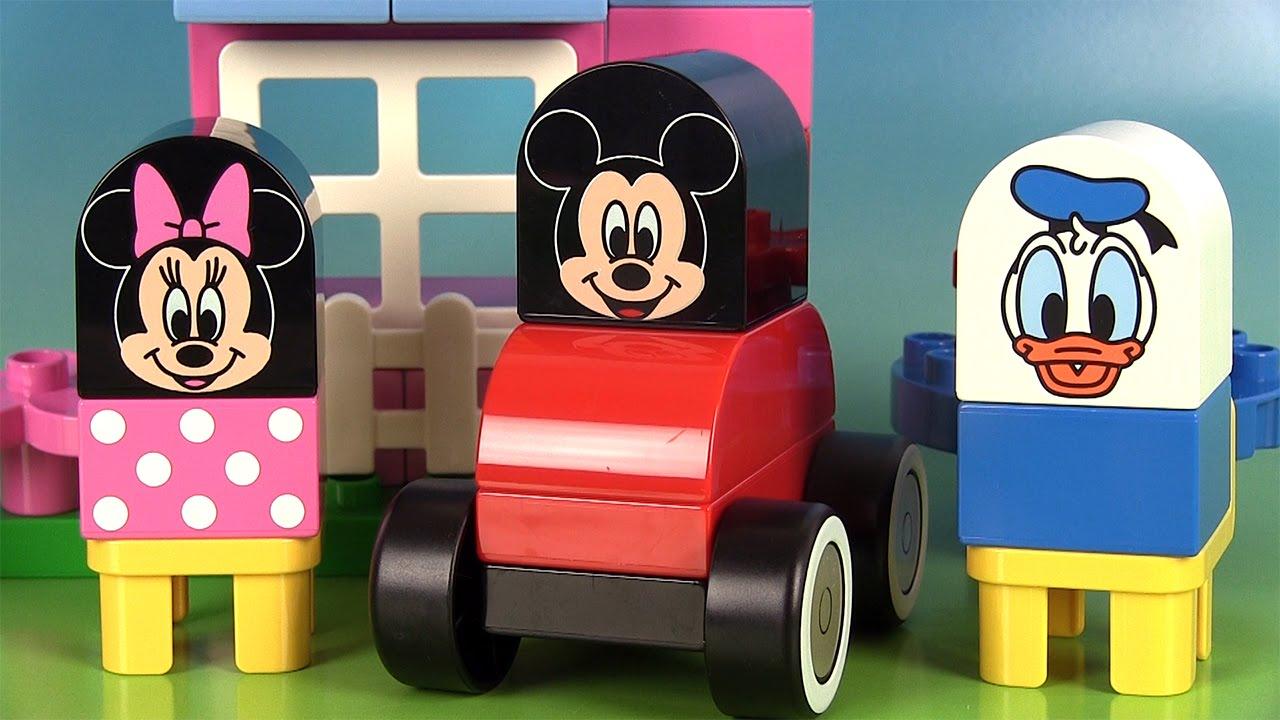 Lego seau de mickey mouse et ses amis duplo jeu de construction blocs youtube - Jeux lego friends gratuit ...