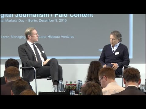 Digital Journalism: Interview Mathias Döpfner and Ken Lerer