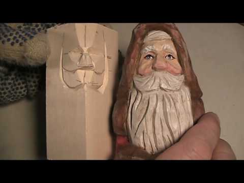 Carving the Santa Face