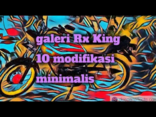 Galeri Rx King 10 modifikasi minimalis #1