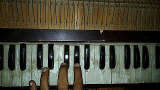 Haal kya hai dilon ka-play harmonium