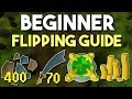A Complete Beginner Guide to Flipping in Oldschool Runescape! Introductory F2P Flipping Guide [OSRS]