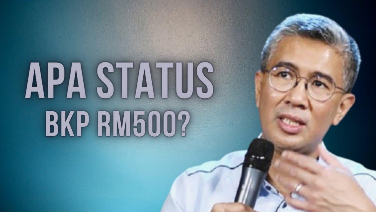 STATUS TERKINI BKP RM500