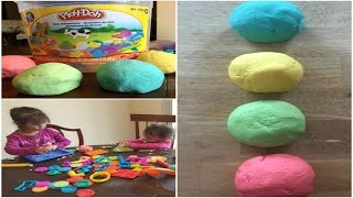 How to make Playdough ( WITHOUT Cream of tartar, No Cook, NON-toxic)
