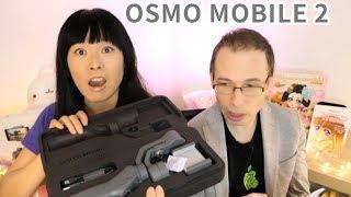 Stabilisateur motorisé ! DJI Osmo mobile 2 Unboxing OUVERTURE CADEAUX ANNIVERSAIRE Rosalys en avance
