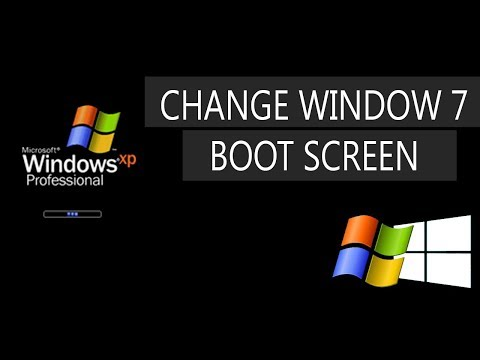 [Amazing] how to change windows boot screen windows 7 | window boot screen updater 2018