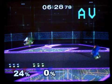 Tom (C. Falcon [Blue]) V.S. Blackshadows (C. Falcon [Green]) 1