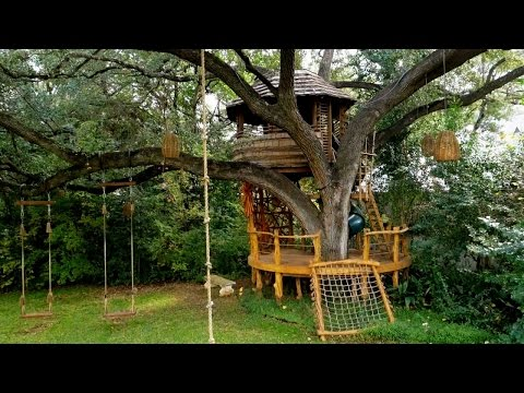 A Botswana-Inspired Hideaway | Treehouse Masters