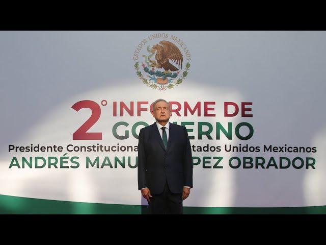 2º Informe de Gobierno | Presidente AMLO