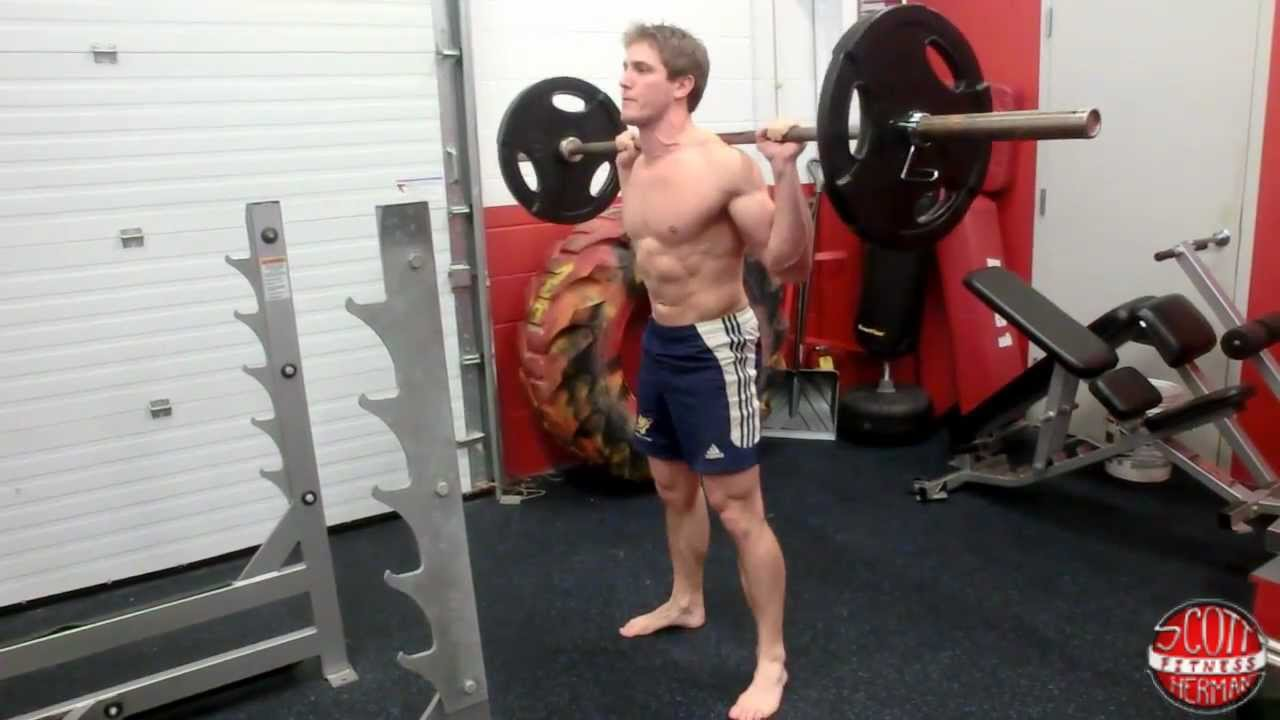 How To: Deep Barbell Back Squat - YouTube