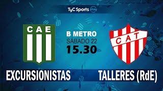 Excursionistas vs CA Talleres Remedios de Escalada full match