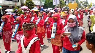 Heboh...hot Viral..karnaval 2018 Drumband Smpn 1 Prabumulih Hut Kota Prabumulih