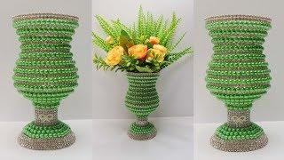 Ide kreatif dari Botol Bekas | Vas bunga mewah dari botol bekas | Bottle craft ideas