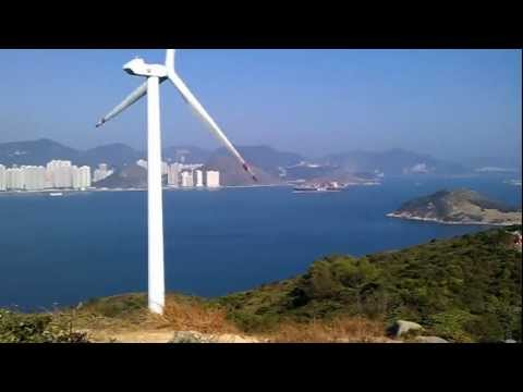 Lamma Winds turbine on Lamma Island, Hong Kong