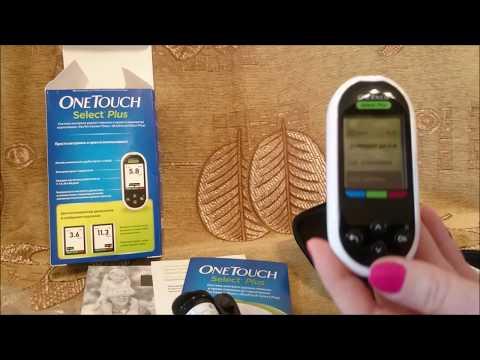 Обзор Глюкометра One Touch Select Plus. Как он работает? Как взять кровь из пальца? | глюкометр | пальца | анализ | сахар | обзор | кровь | взять | как | select | touch
