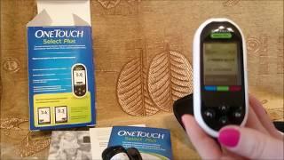 Обзор Глюкометра One Touch Select Plus. Как он работает Как взять кровь из пальца