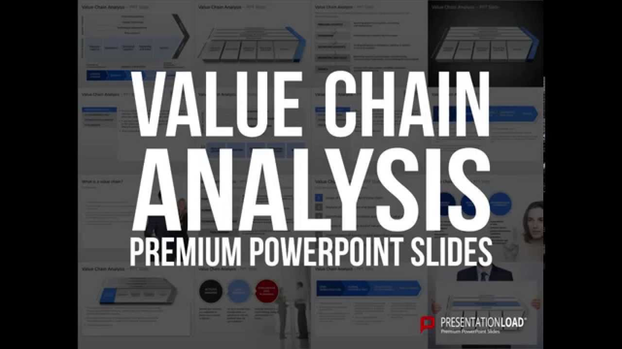 Value Chain Analysis PowerPoint Template YouTube