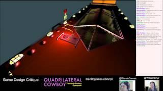 Game Design Critique #16 - Quadrilateral Cowboy