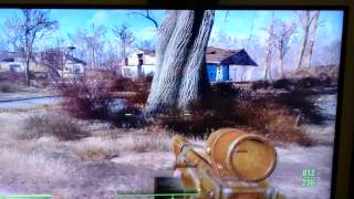 Plant flickering issue on fallout 4