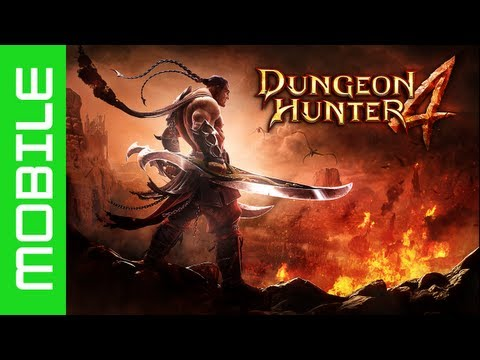 Dungeon Hunter 4 - Inro & Character Selection (iPhone/iPad/Android) HD
