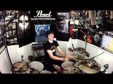 Contact - Daft Punk - Drum Cover (New Pearl Export Series Drums!)