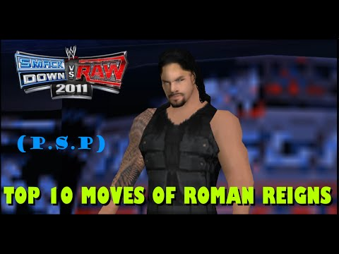 Thumbnail: [Svr 11] Top 10 Moves Of Roman Reigns