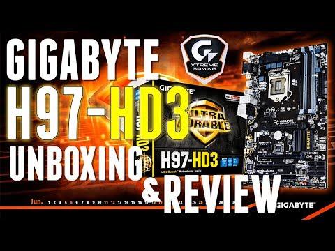 Gigabyte GA-H97-HD3 UNBOXING