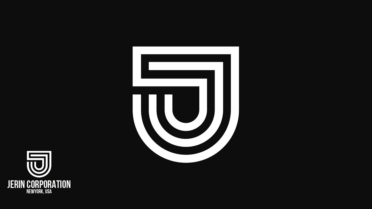 simple logo design with illustrator cc  letter j